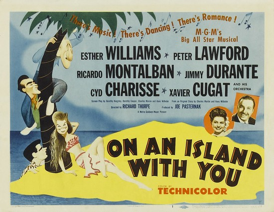 ON AN ISLAND WITH YOU(1948) FILM POSTER 3