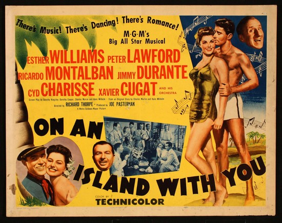 ON AN ISLAND WITH YOU(1948) FILM POSTER 7