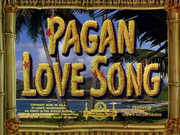 Pagan love song (2)