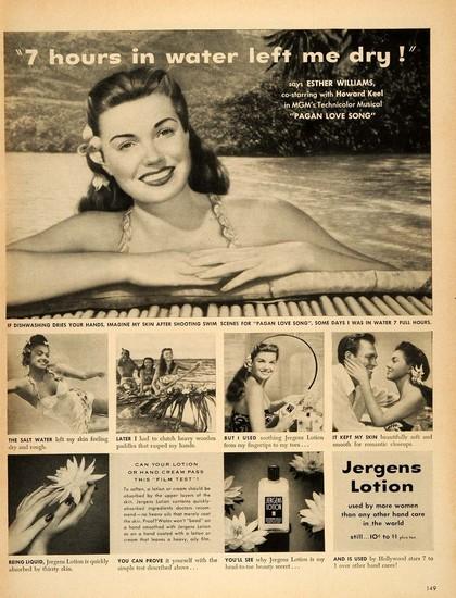 PAGAN LOVE SONG(1950) ADV 2