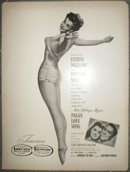 PAGAN LOVE SONG(1950) ADV