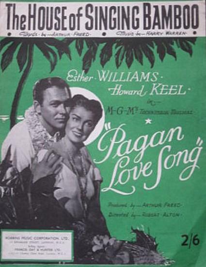 PAGAN LOVE SONG(1950) FILM POSTER 10