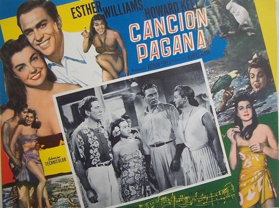 PAGAN LOVE SONG(1950) FILM POSTER 11