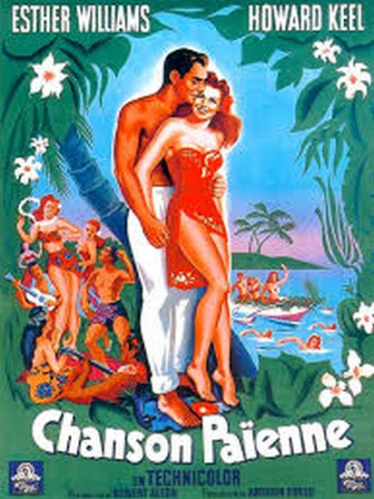 PAGAN LOVE SONG(1950) FILM POSTER 4