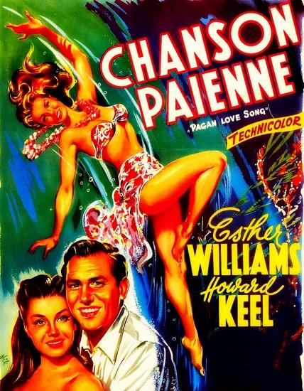 PAGAN LOVE SONG(1950) FILM POSTER 5