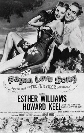 PAGAN LOVE SONG(1950) FILM POSTER 8