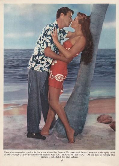 PAGAN LOVE SONG(1950) LOBBY CARD 4