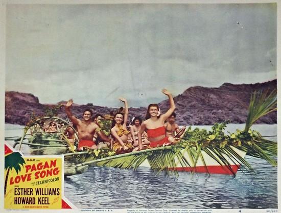 PAGAN LOVE SONG(1950) LOBBY CARD 7