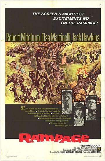 RAMPAGE(1963) FILM POSTER 1