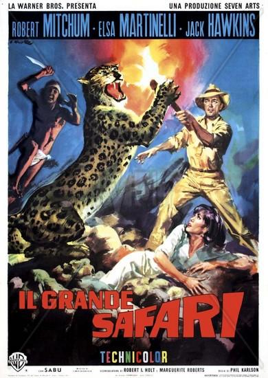 RAMPAGE(1963) FILM POSTER 2