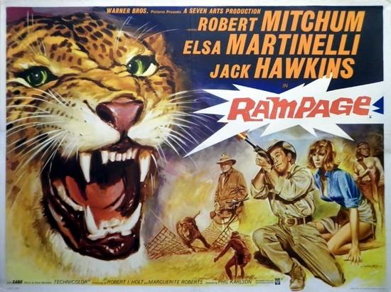 RAMPAGE(1963) FILM POSTER 3