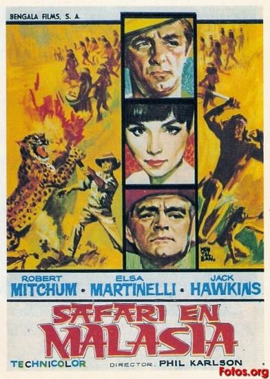 RAMPAGE(1963) FILM POSTER 4