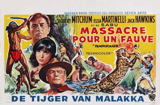 RAMPAGE(1963) FILM POSTER 5