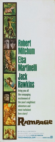 RAMPAGE(1963) FILM POSTER 6