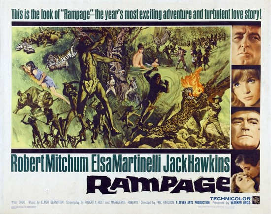 RAMPAGE(1963) FILM POSTER 7