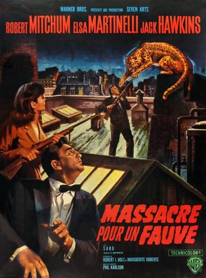RAMPAGE(1963) FILM POSTER 8