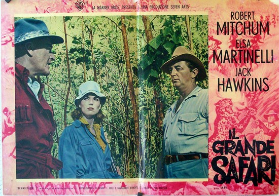 RAMPAGE(1963) LOBBY CARD 1