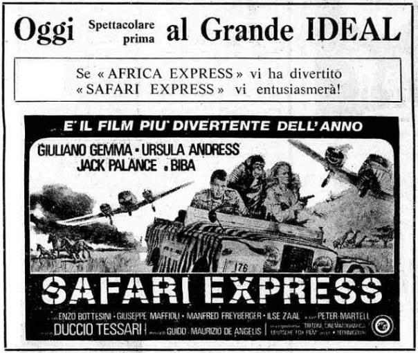 SAFARI EXPRESS(1976) ADV