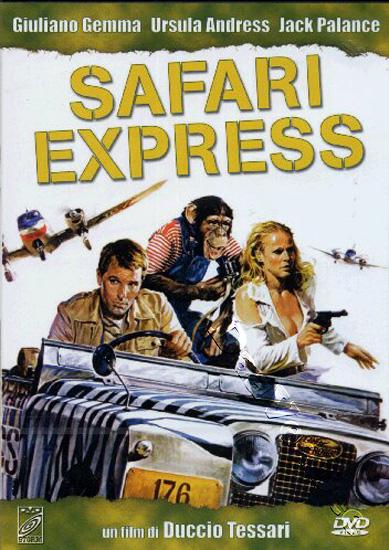 SAFARI EXPRESS(1976) DVD COVER 2