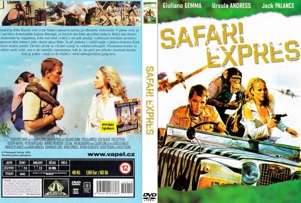 SAFARI EXPRESS(1976) DVD COVER