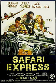 SAFARI EXPRESS(1976) FILM POSTER 1