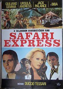 SAFARI EXPRESS(1976) FILM POSTER 2