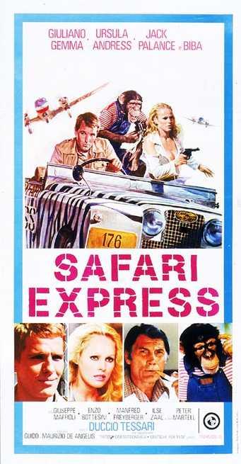 SAFARI EXPRESS(1976) FILM POSTER 3