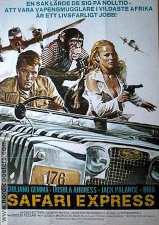 SAFARI EXPRESS(1976) FILM POSTER 4