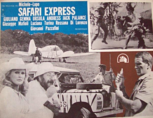 SAFARI EXPRESS(1976) FILM POSTER 5