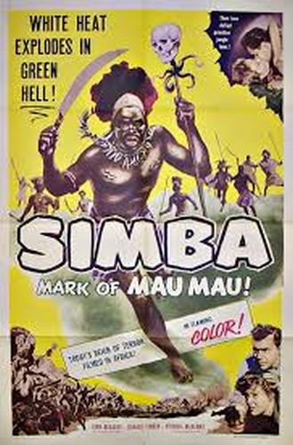 SIMBA(1955) FILM POSTER 1