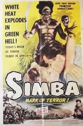 SIMBA(1955) FILM POSTER 10