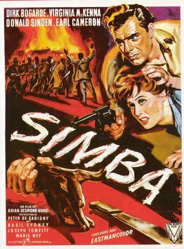 SIMBA(1955) FILM POSTER 5