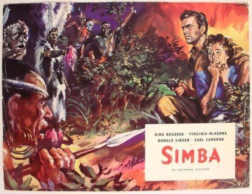 SIMBA(1955) FILM POSTER 6