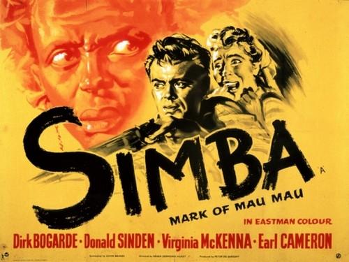 SIMBA(1955) FILM POSTER 9