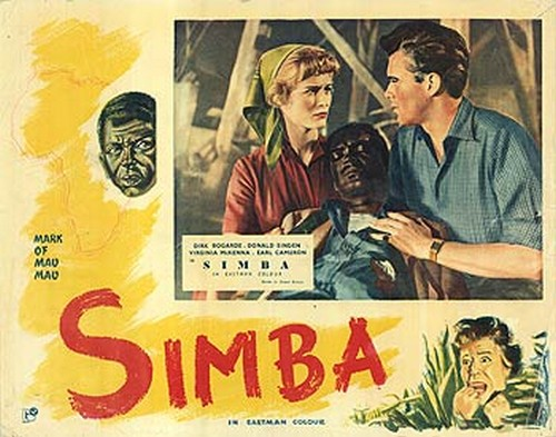 SIMBA(1955) LOBBY CARD 1