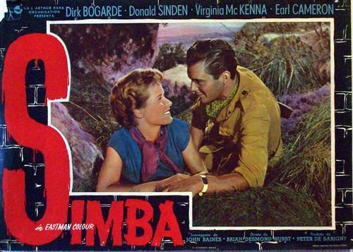 SIMBA(1955) LOBBY CARD 2