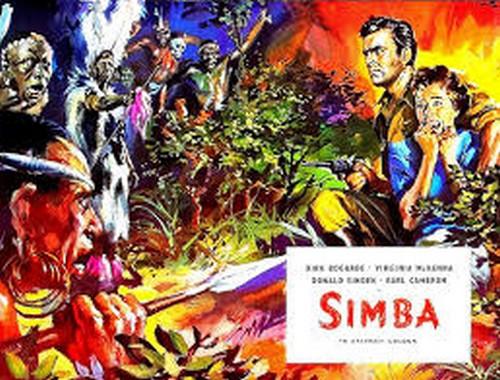 SIMBA(1955) LOBBY CARD 3
