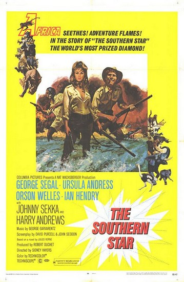 SOUTHERN STAR(1969) FILM POSTER 1