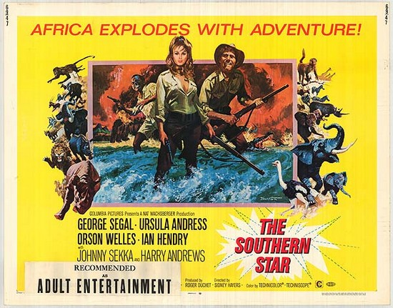 SOUTHERN STAR(1969) FILM POSTER 2