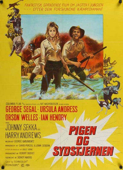 SOUTHERN STAR(1969) FILM POSTER 4