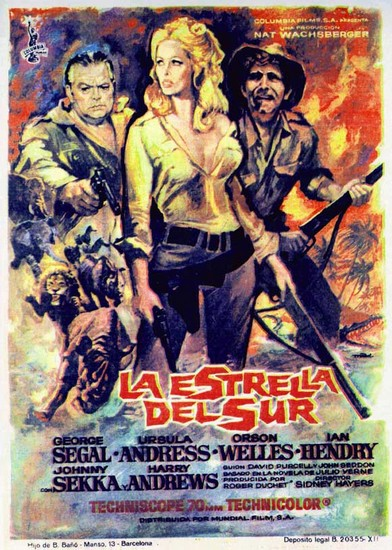 SOUTHERN STAR(1969) FILM POSTER 6