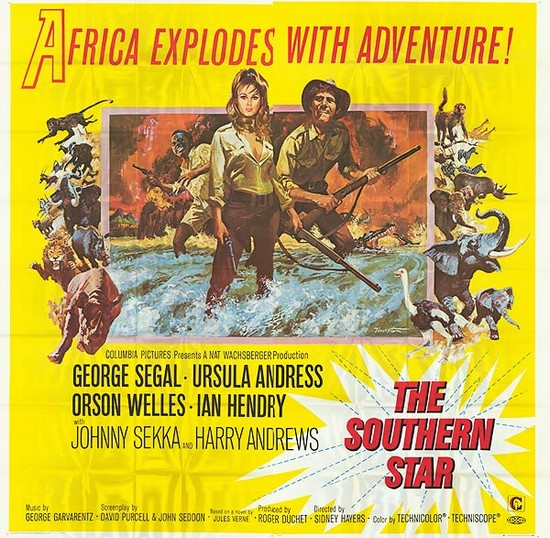 SOUTHERN STAR(1969) FILM POSTER 8