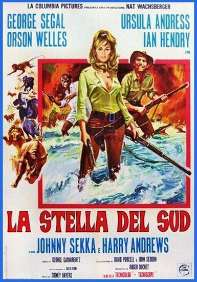 SOUTHERN STAR(1969) FILM POSTER 9