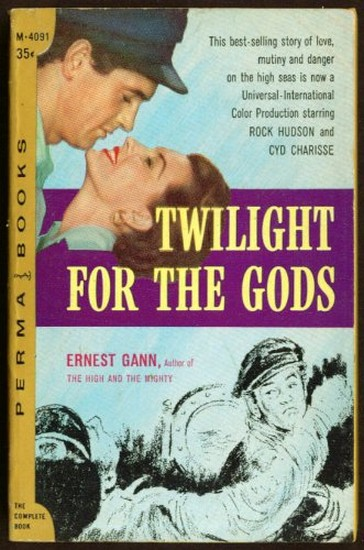 TWILIGHT FOR THE GODS(1958) BOOK COVER