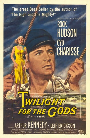 TWILIGHT FOR THE GODS(1958) FILM POSTER 1