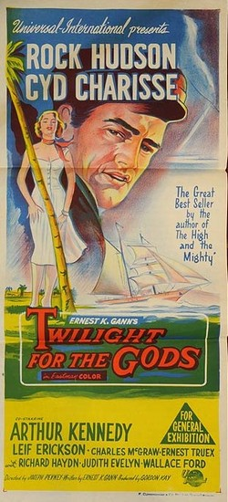 TWILIGHT FOR THE GODS(1958) FILM POSTER 10