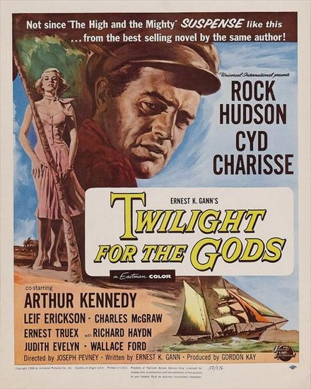TWILIGHT FOR THE GODS(1958) FILM POSTER 2