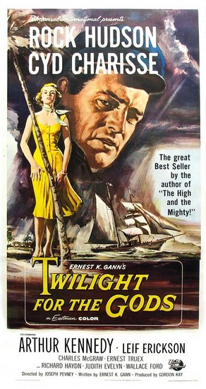 TWILIGHT FOR THE GODS(1958) FILM POSTER 3