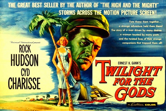 TWILIGHT FOR THE GODS(1958) FILM POSTER 9
