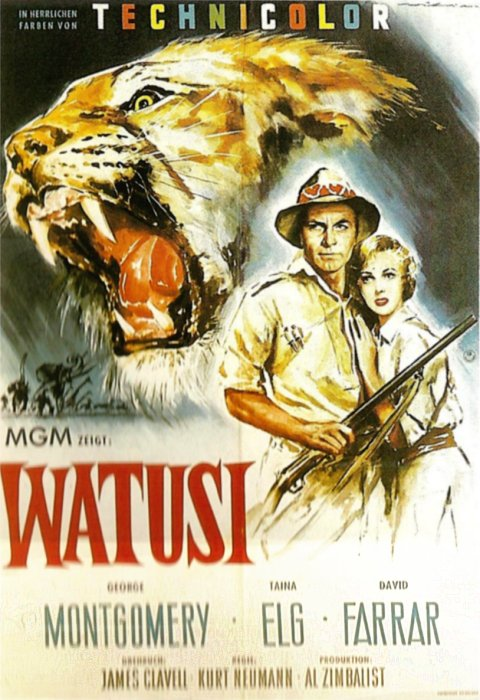 WATUSI(1959) FILM POSTER 2